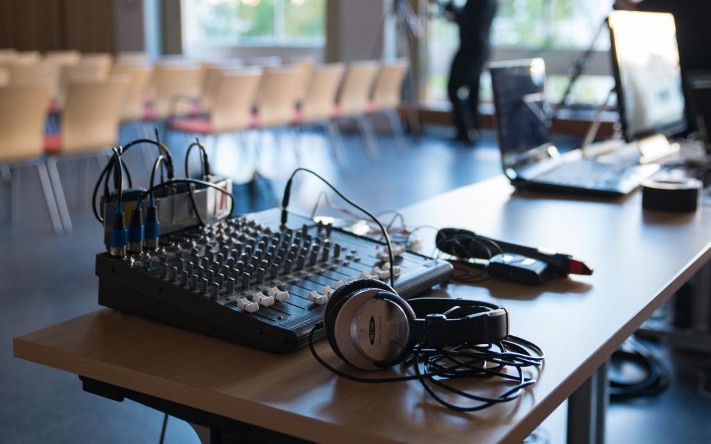Webbtv produktion, ljudmixer