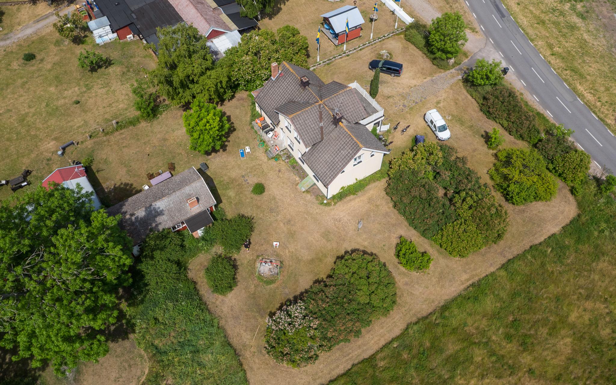 Flygfotografering av hus