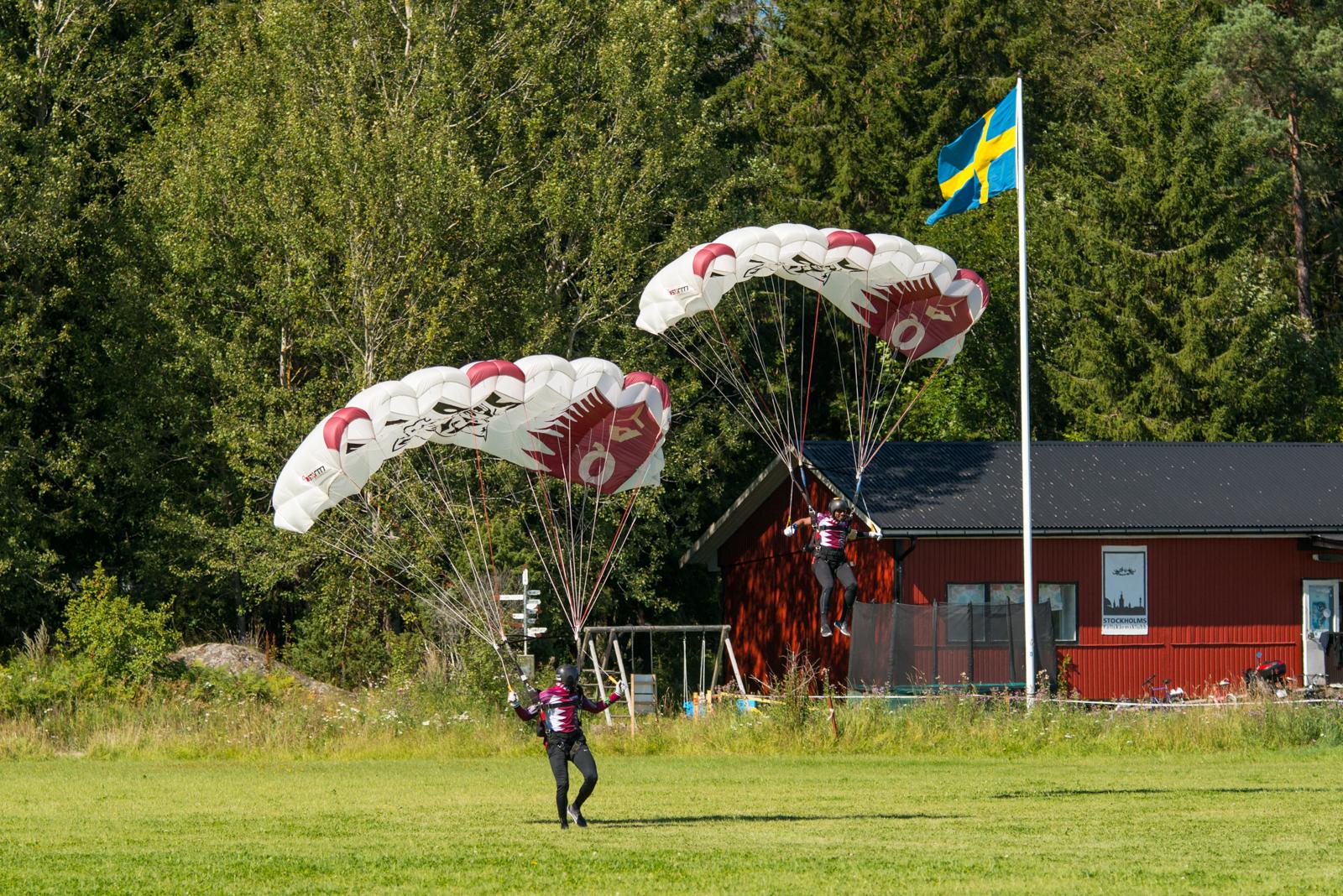 The Qatar National Parachute Team